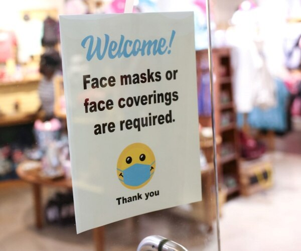 Sen. Marshall to Newsmax: Studies Say Masks Don't Protect Against COVID