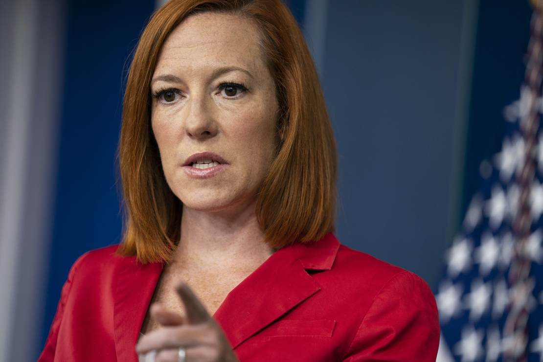 Jen Psaki Lists the GOP Governors 'Getting It Right' and Laughter Ensues – RedState