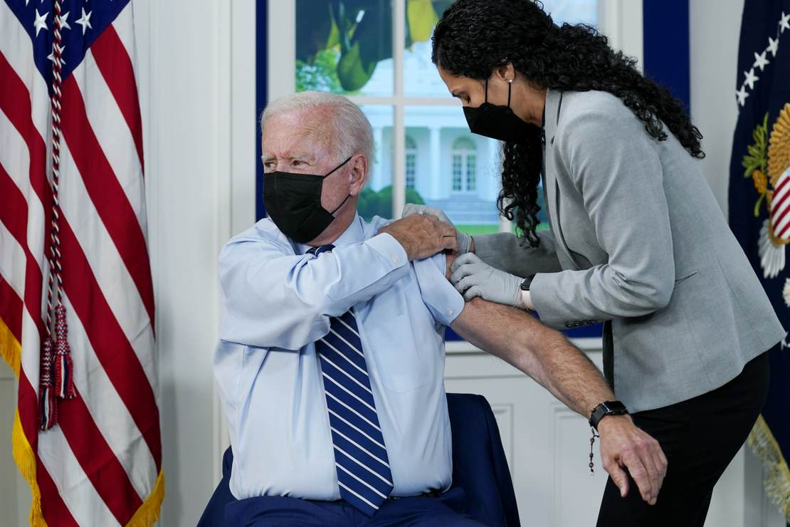 A Rambling Joe Biden Gets a Vaccine Booster on Camera and Chucks the Goalposts Into the Sea – RedState