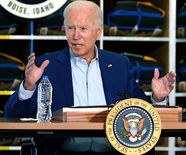 White House Cuts Biden's Feed During Briefing