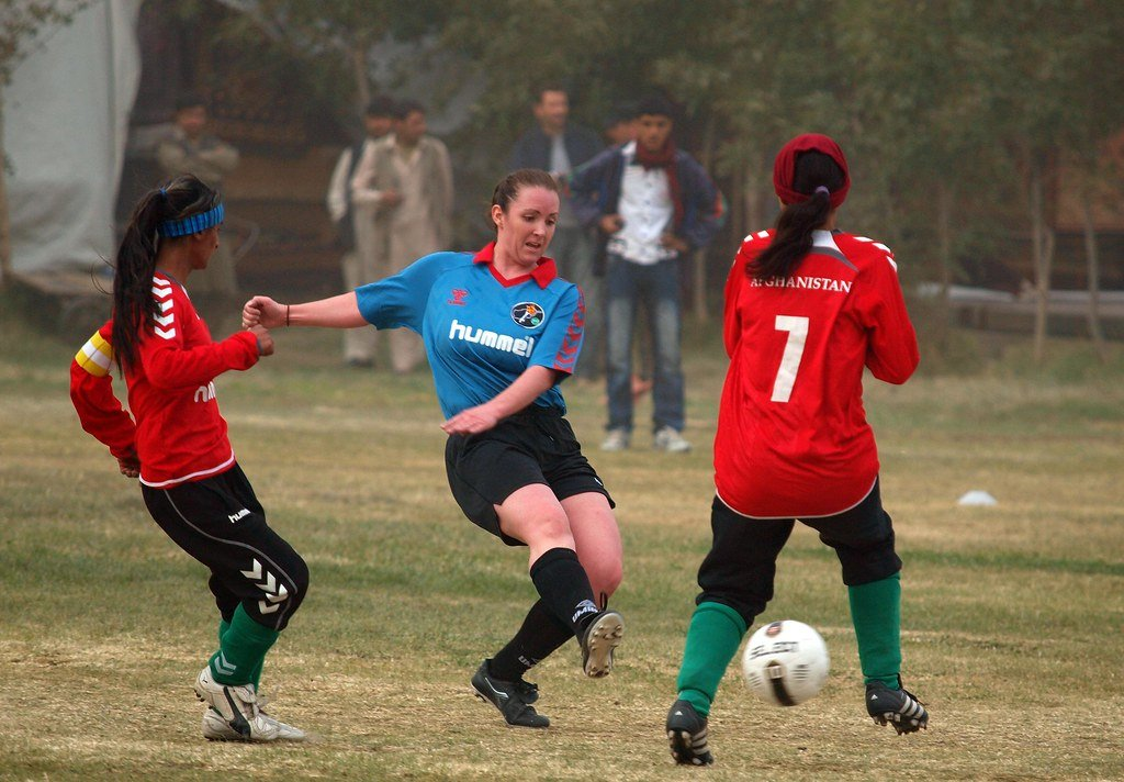 Afghanistan Shows Athlete Supremacy Reigns King