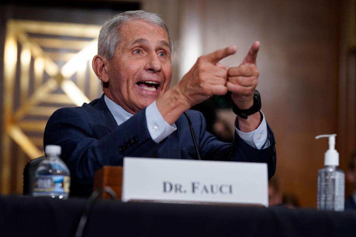 Critics Scoff At 'Movie Star' Fauci Getting His Own Documentary