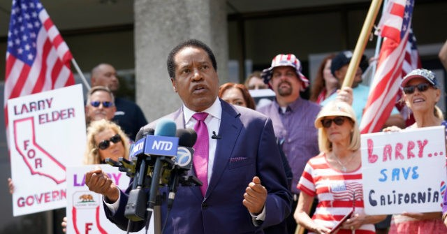 Watch – Angry Activists Throw Eggs at Larry Elder in Los Angeles