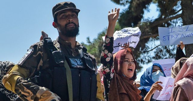 Taliban Disperses Female-Led Protest in Kabul with Guns, Whips, and Clubs