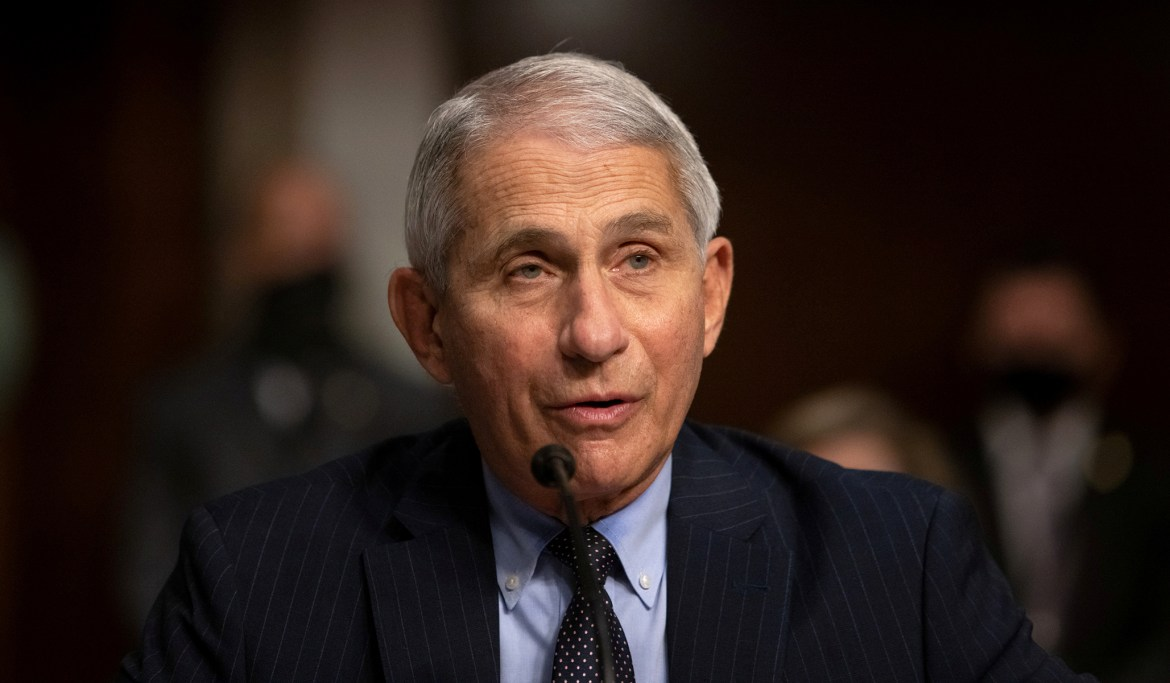 Anthony Fauci, the Grinch Who Conditioned Christmas on COVID Caseloads