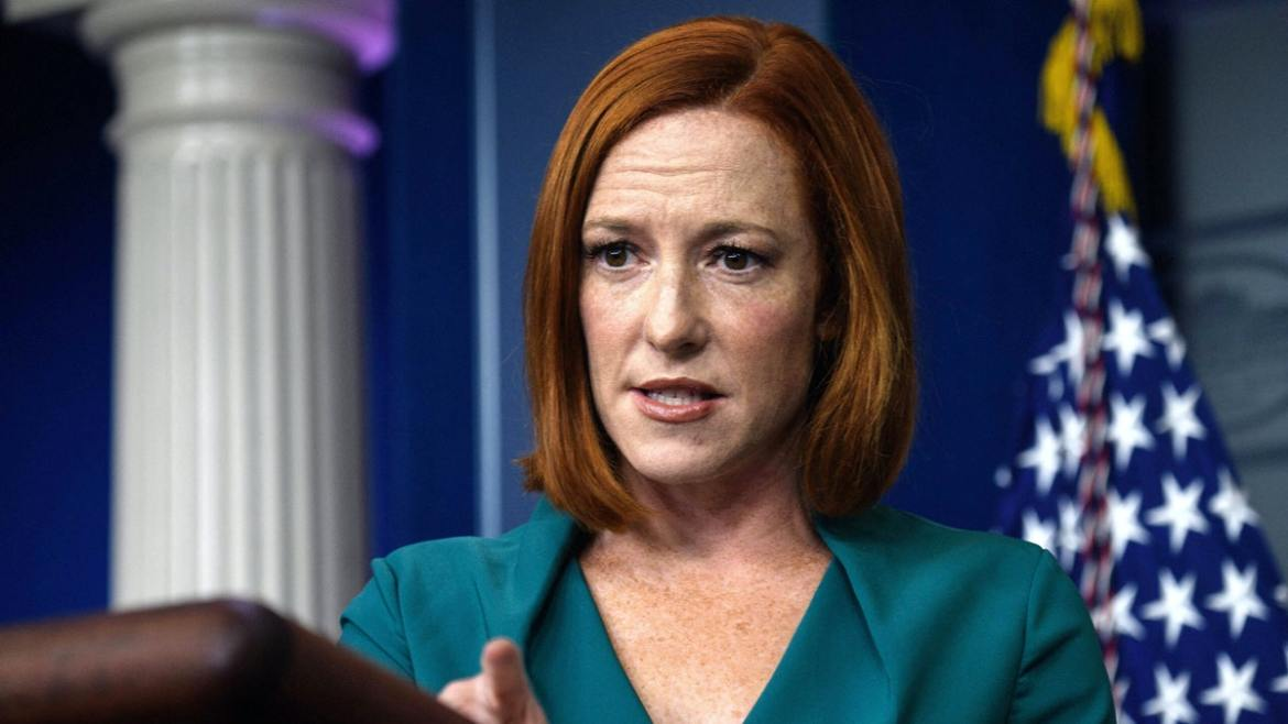 Psaki Downplays Claim That Biden 'Literally' Didn't Know Situation With France: 'Not What' He Meant
