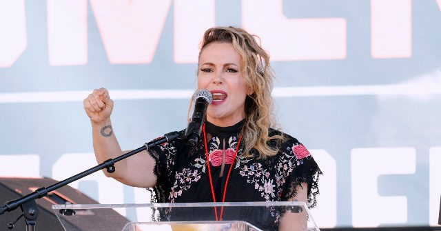 Alyssa Milano Rants About 'How F**ked Up America Is Right Now,' Supreme Court 'Abusers' at Abortion Rally
