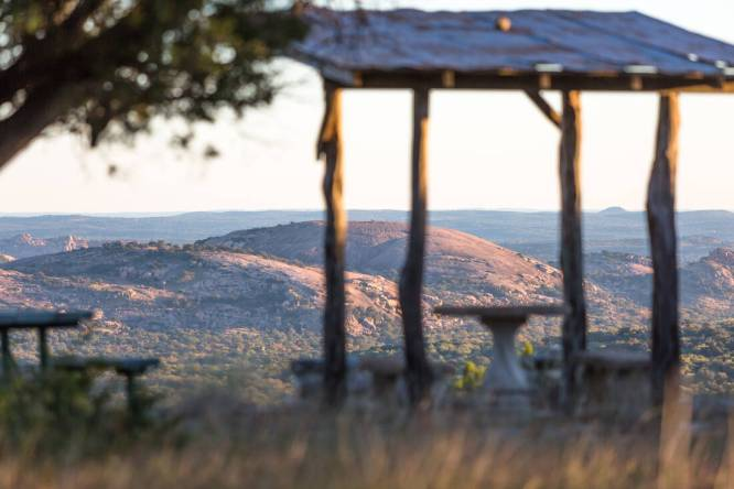 Ranch for sale overlooking Enchanted Rock in Texas Hill Country