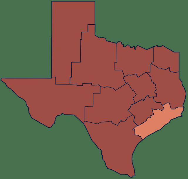 Texas Coastal Prairie region