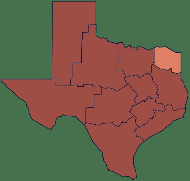 Northeast Texas region
