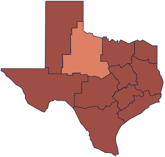 Texas Rolling Plains region