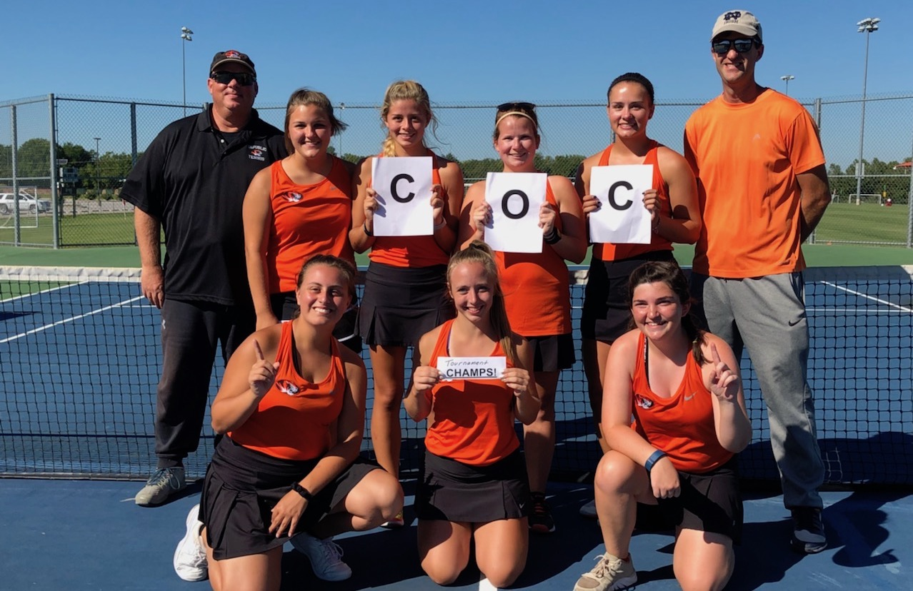 Lady Tigers Rebound To Win COC Tourney