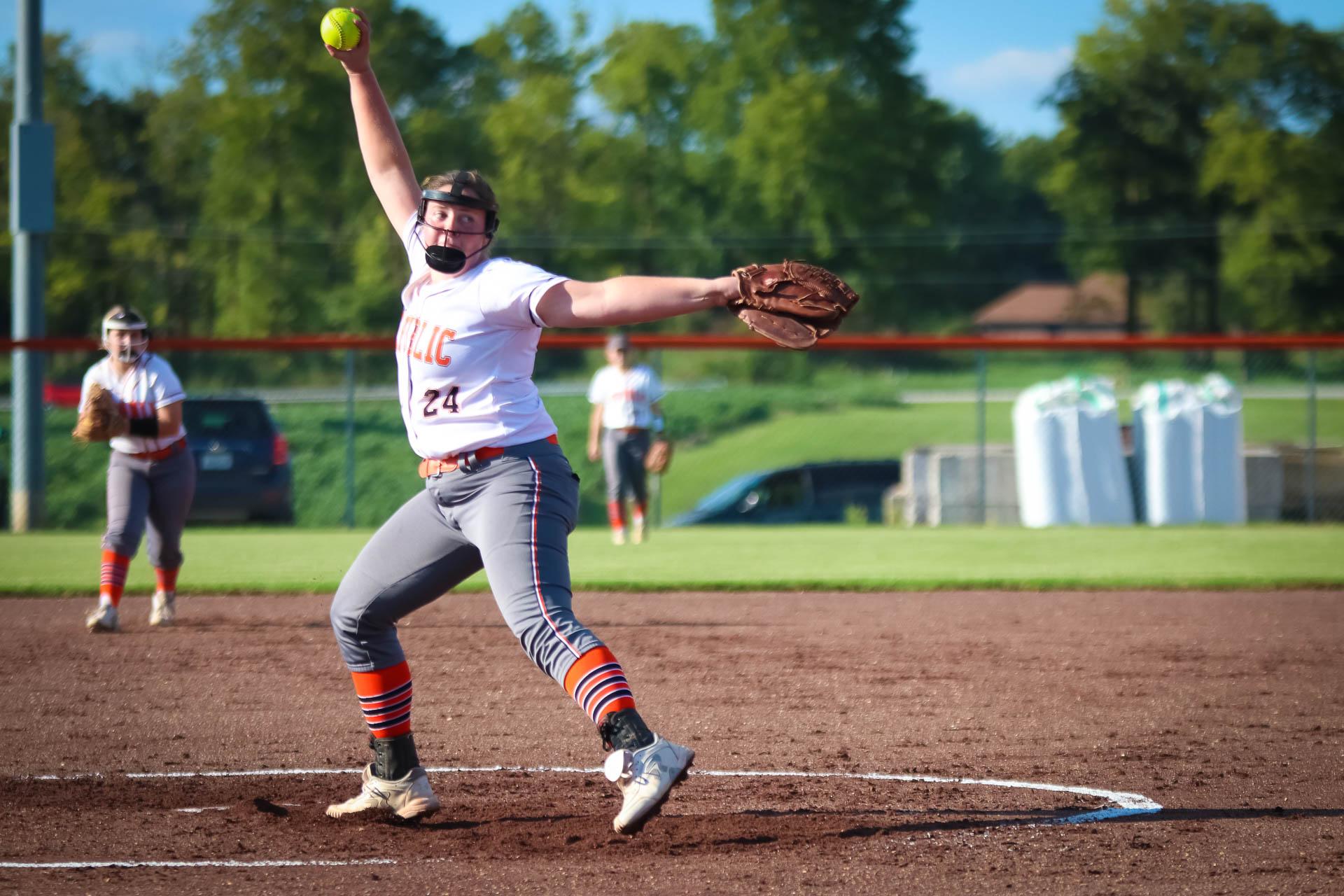 Photos:  Varsity Softball Vs Branson
