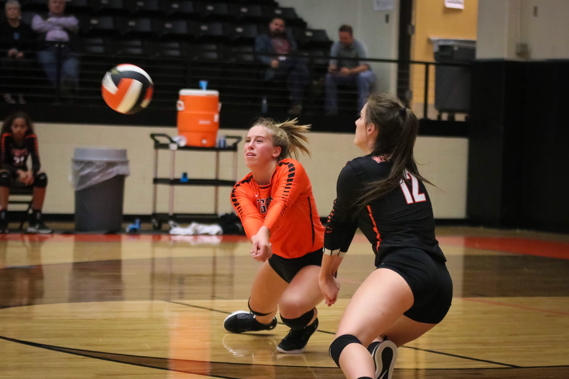Lady Tiger Volleyballers Fall To Webb City