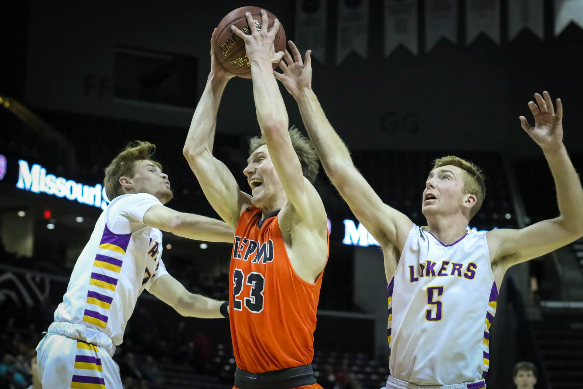 Photos:  Varsity Boys Basketball Vs Camdenton