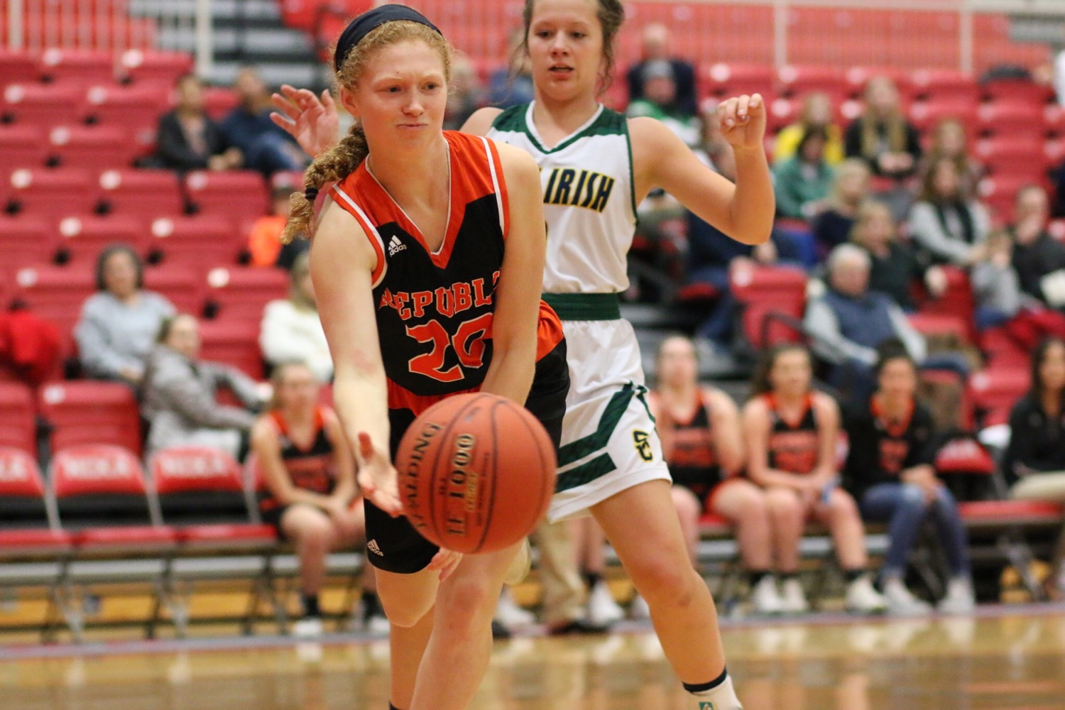 2nd Half Crackdown Propels Lady Tigers Past Irish