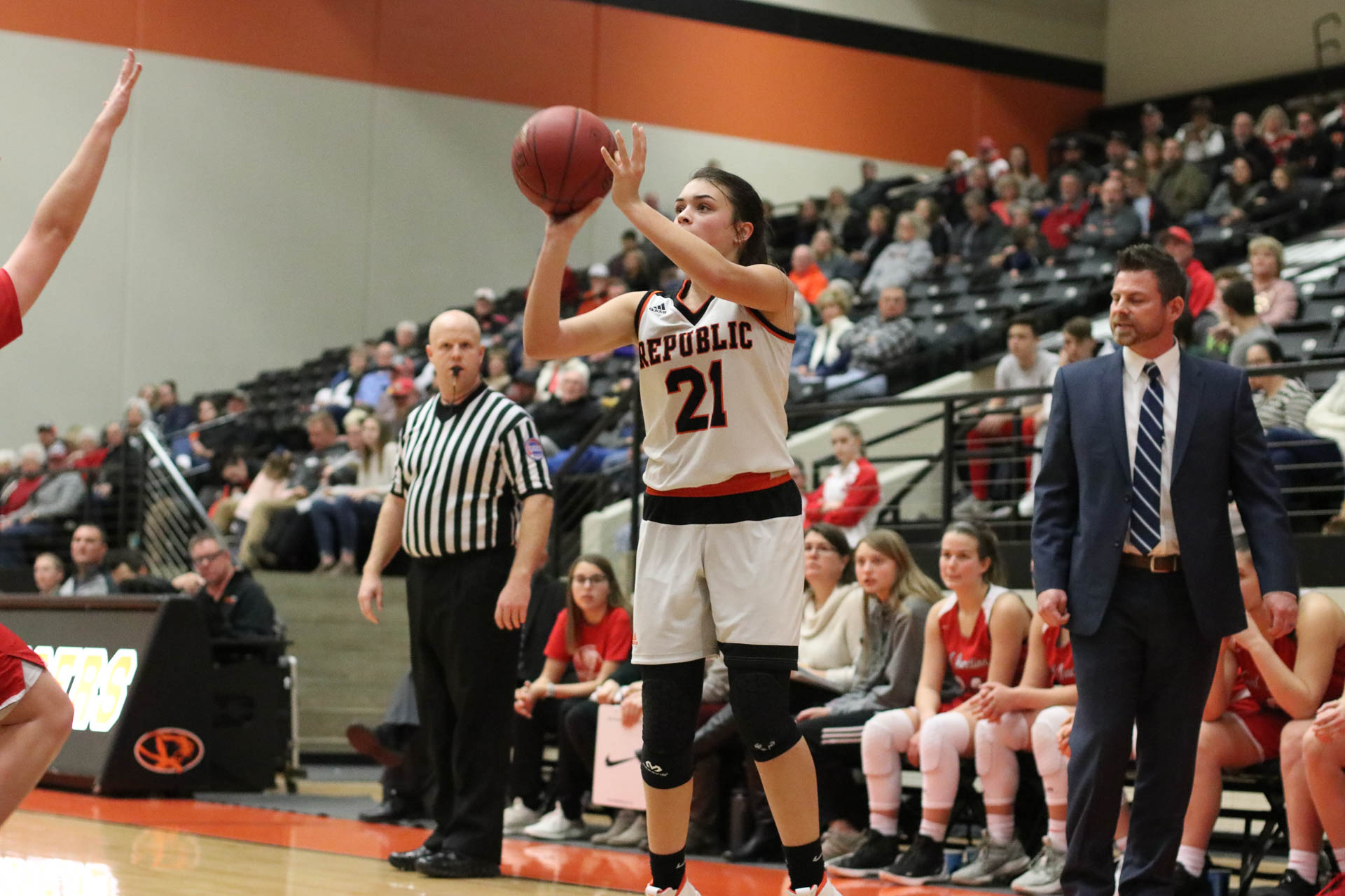 Lady Tigers Match Shooting Record In COC Win