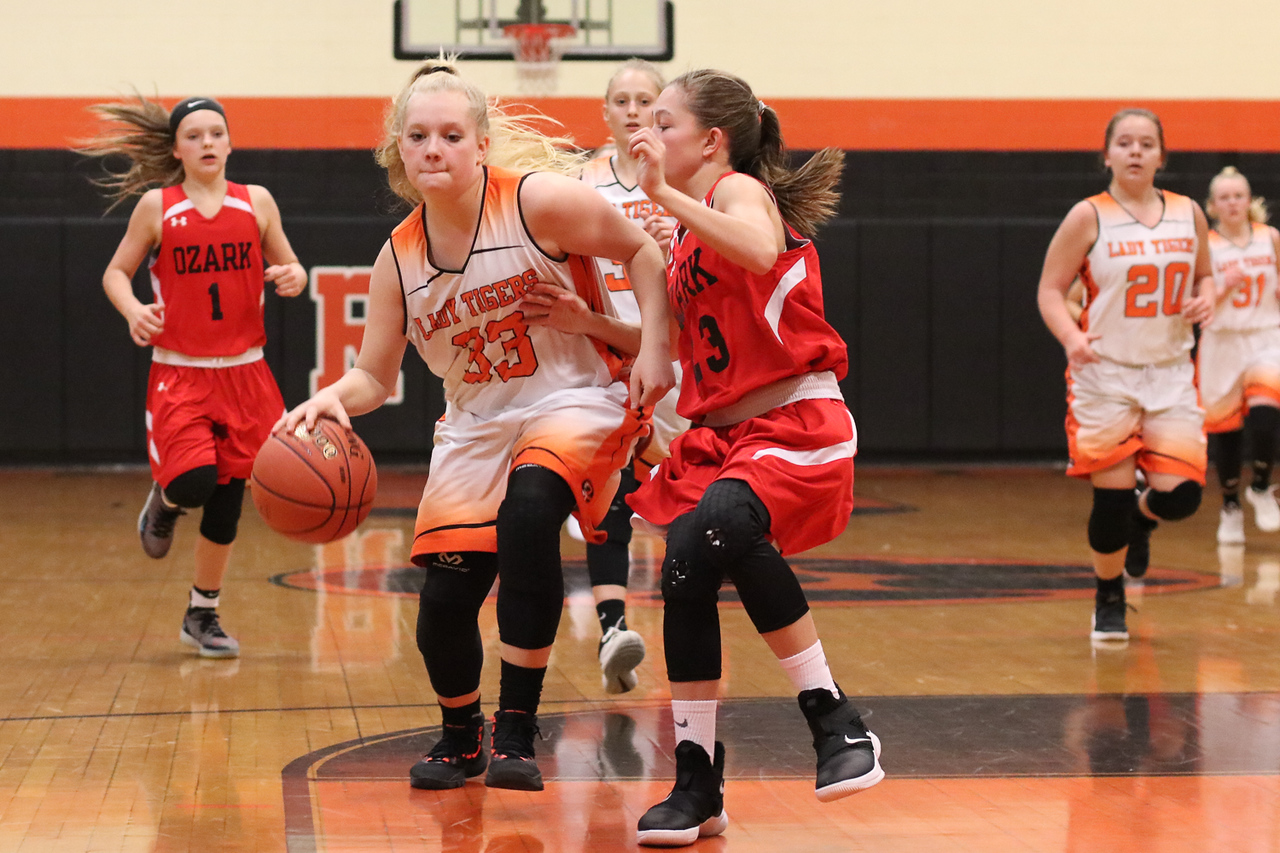 Photos:  Middle School Girls Basketball Vs Ozark