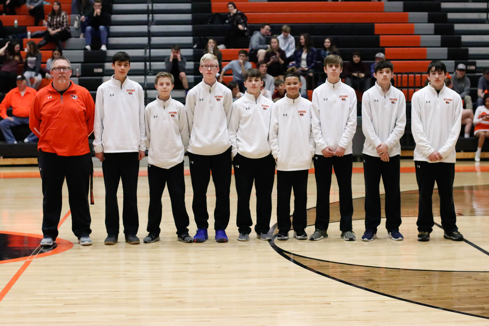 Tigers In Training: Republic Recognizes Middle School Teams