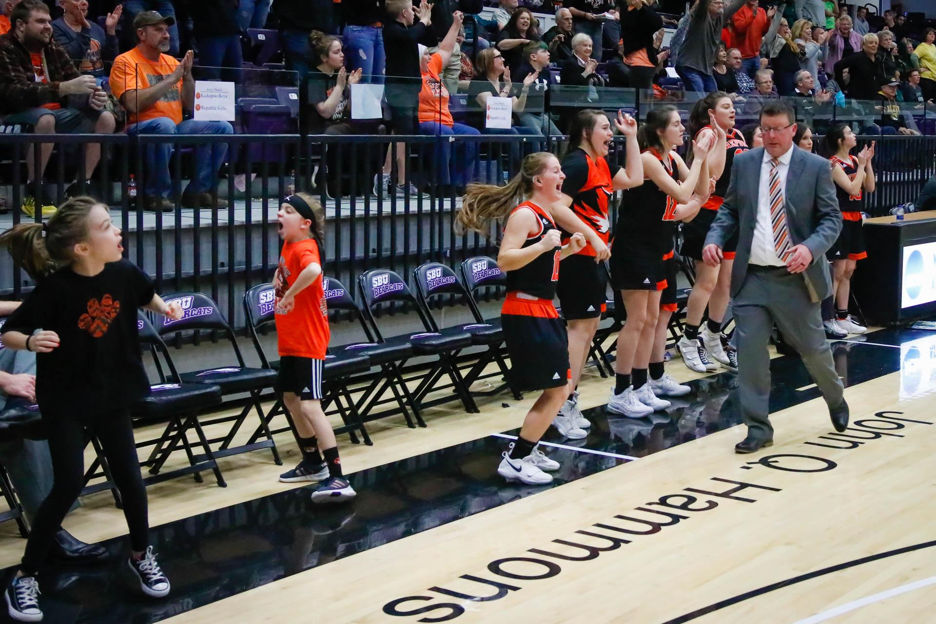 Photos:  Girls Basketball Quarterfinals Vs Rock Bridge