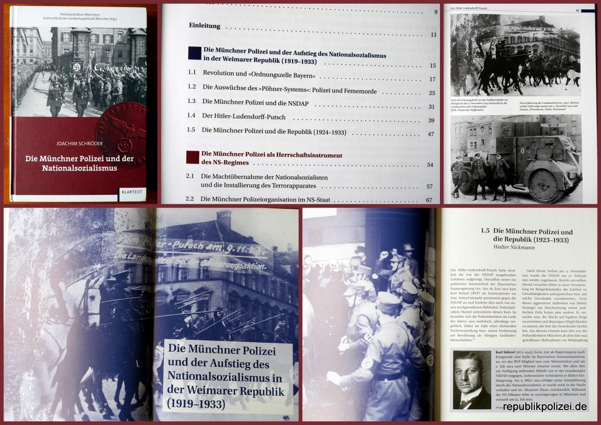 Buchvorstellung: Die Münchner Polizei und der Nationalsozialismus