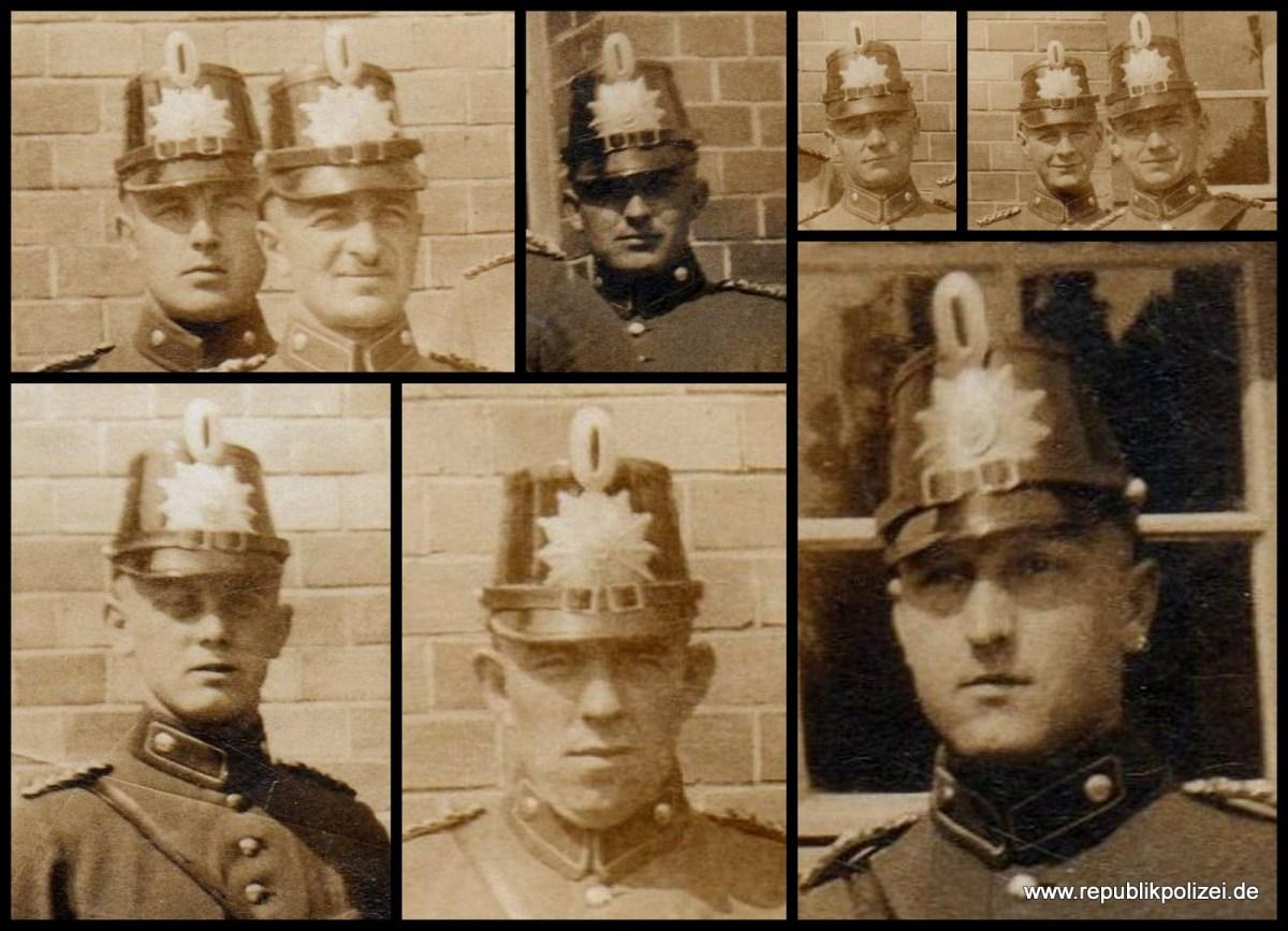 9 Polizisten – wer waren diese Männer?