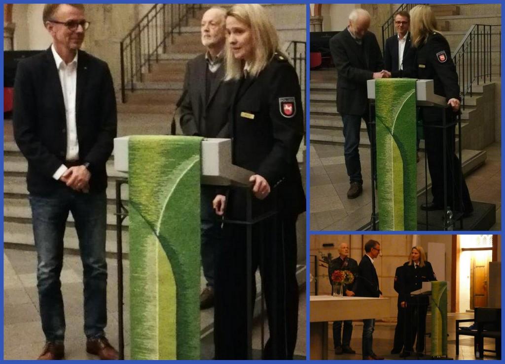 Dankes- und Schlussworte der Leiterin Einsatz der Polizeiinspektion, Maren Jäschke