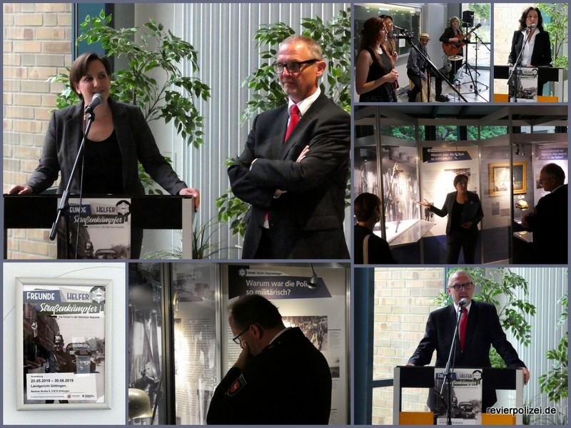 """Ausstellungseröffnung Göttingen: """"Freunde – Helfer – Straßenkämpfer"""""""