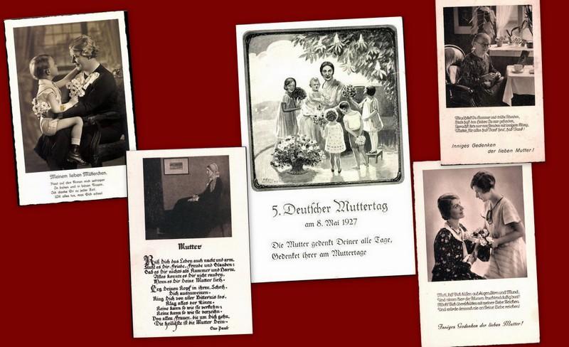 Der Muttertag etablierte sich zur Zeit der Weimarer Republik.