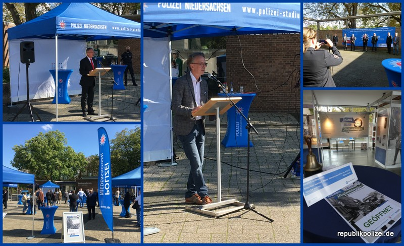 Ausstellungseröffnung – Freunde-Helfer-Straßenkämpfer in Hameln. Viele waren dabei.