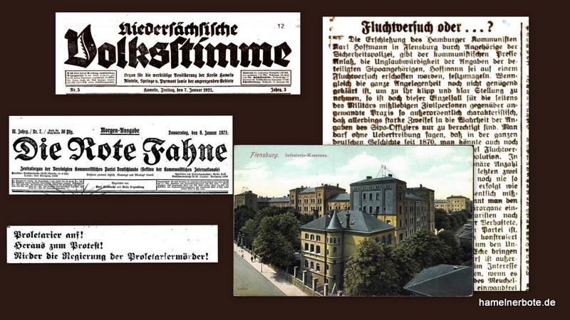 Ein Polizeieinsatz vor 100 Jahren (4.1.1921) im Pressespiegel der damaligen Zeit
