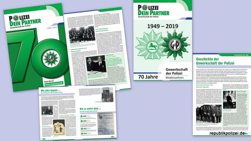 Jüngere Gewerkschaftsgeschichte der Polizei – 70 Jahre GdP