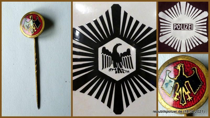 Polizeiangehörige im Reichsbanner Schwarz-Rot-Gold zur Zeit der Weimarer Republik