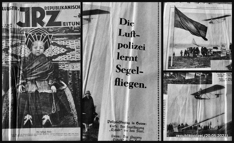 IRZ-1929: Die Luftpolizei lernt Segelfliegen