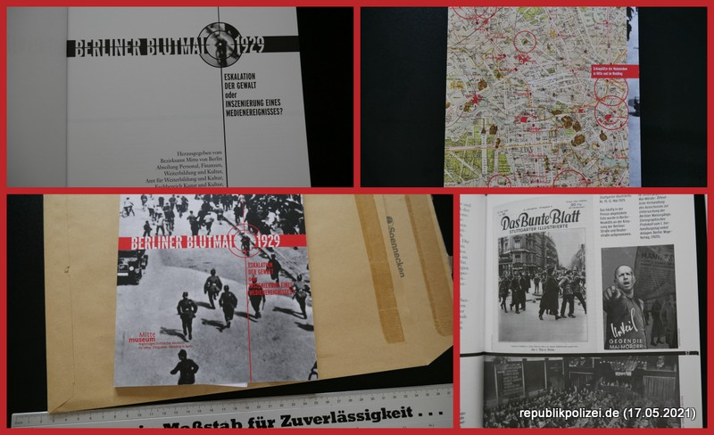 Buchvorstellung: Berliner Blutmai 1929 – Eskalation der Gewalt oder Inszenierung eines Medienereignisses?