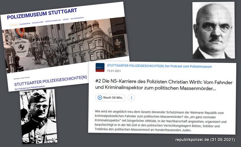 Polizist und Massenmörder: Kriminalbeamter Christian Wirth
