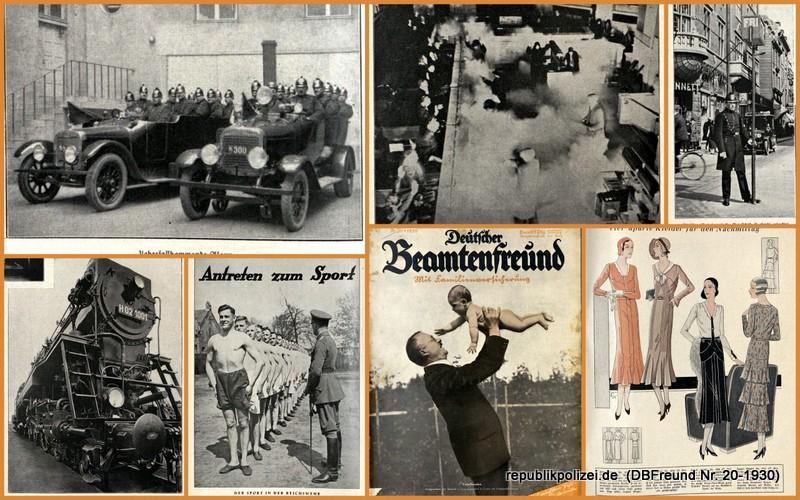 """Zeitschrift: """"Deutscher Beamtenfreund"""" Nr. 20 – 1930"""