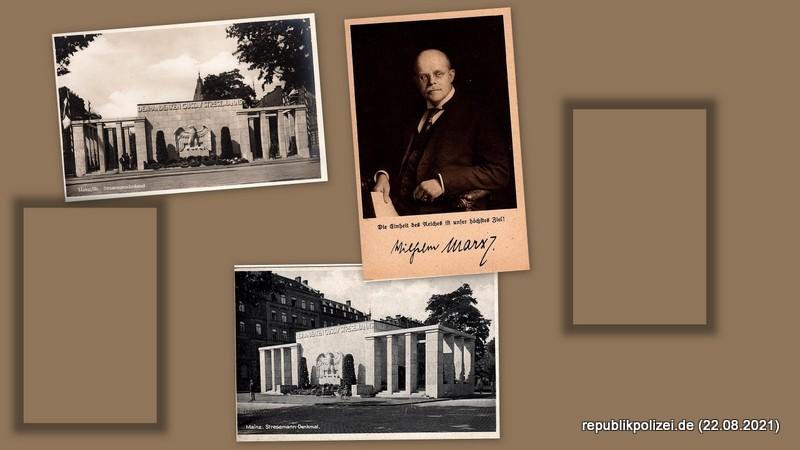 Postkarten-/Bildersammlung Weimarer Republik