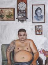 Oil on canvas 120 x 70 cm