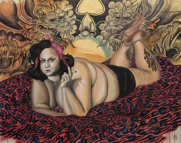 Oil on canvas 160 x 120 cm