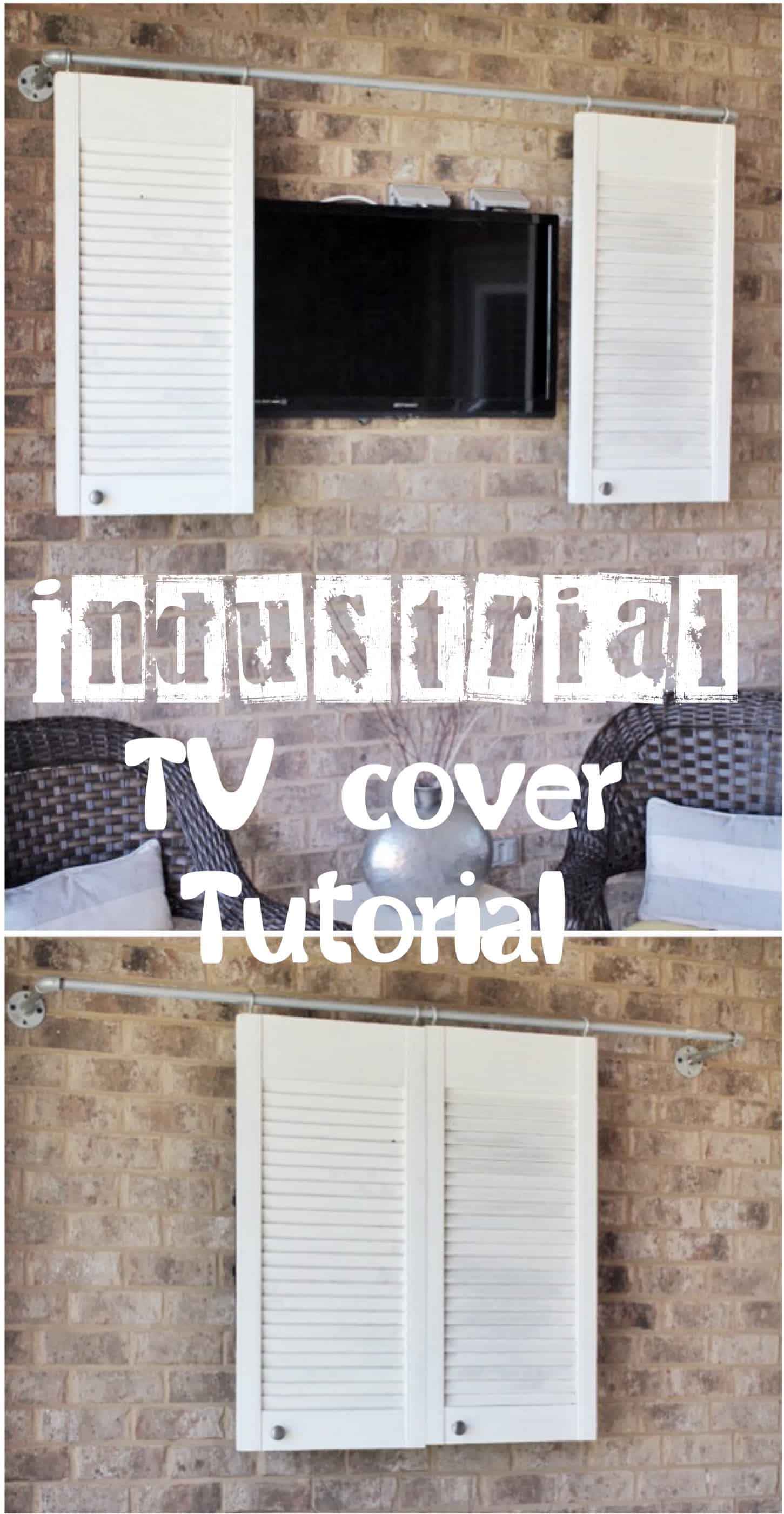 Pipe Sliding TV cover tutorial