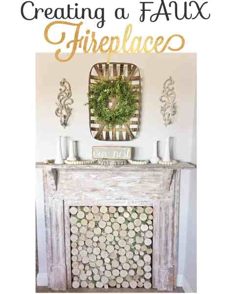 How to Create an Antique Fireplace Mantel