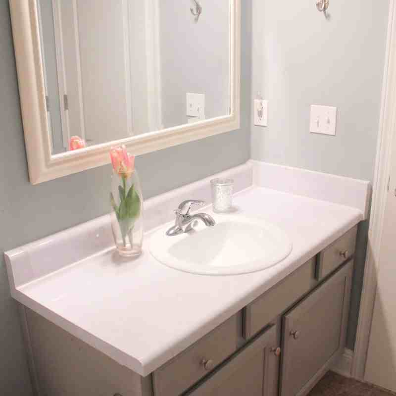 Bathroom update for under $100
