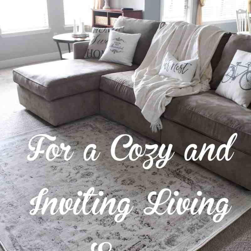 Repurposing fabric for a cozy and inviting living space