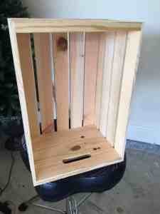 useful ways to repurpose a wooden crate first