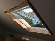 Skylight two done too.