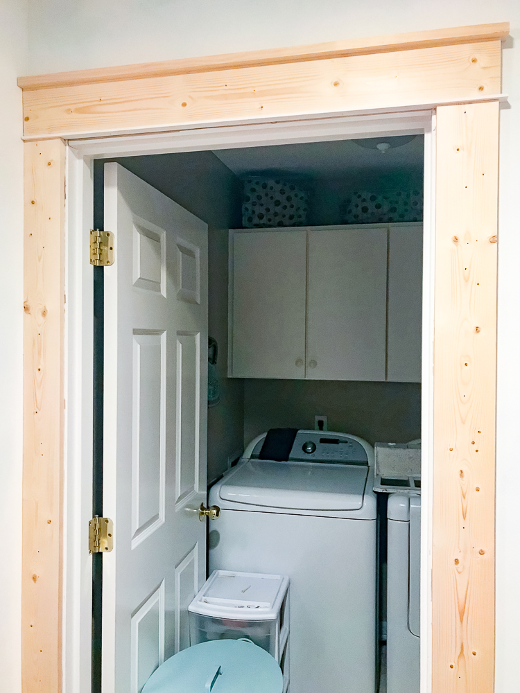 entry way to laundry room