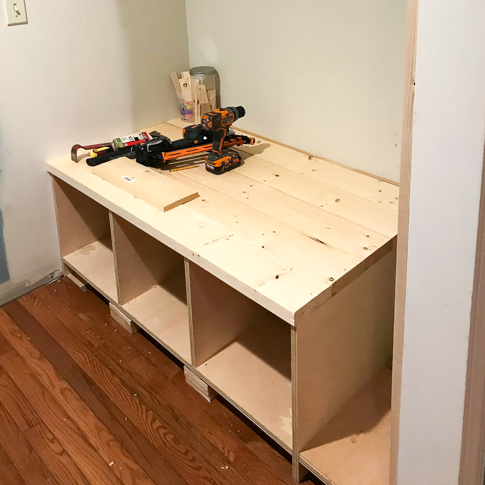 bench constructed