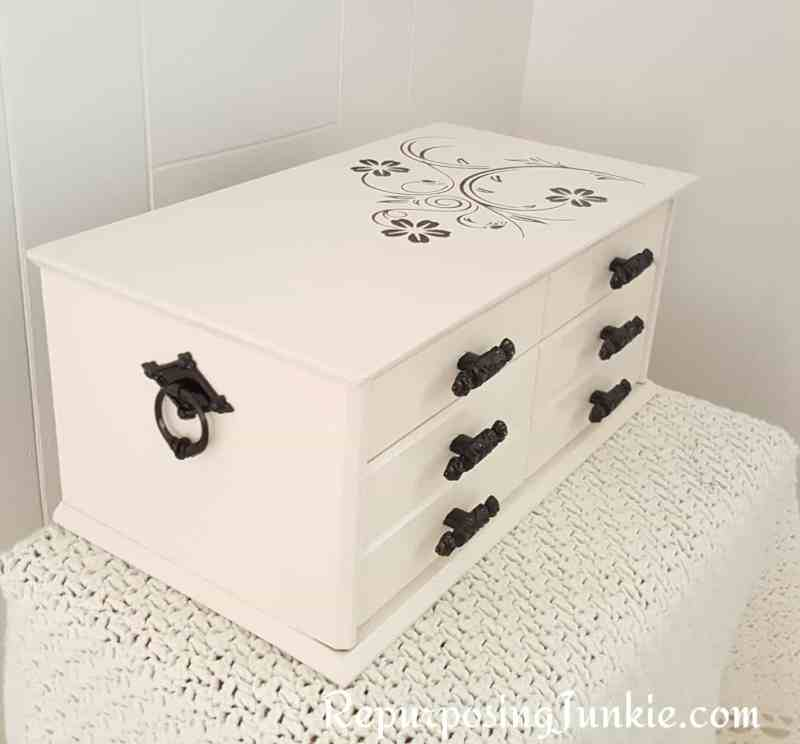Repurposed Jewelry Box
