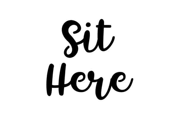 sit-here
